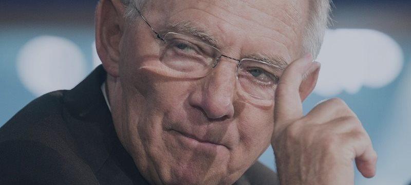 Schäuble alerta para riscos de nova bolha financeira