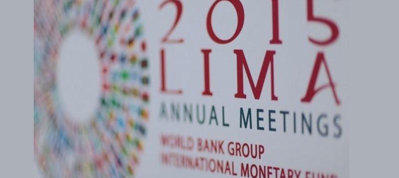 Perú inaugura Junta de Gobernadores del FMI y BM en medio de expectativa