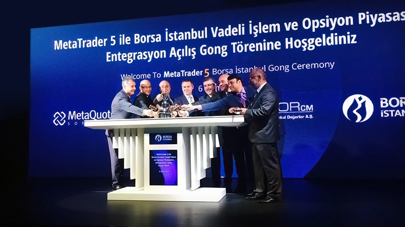 MetaTrader 5 запущен на Фондовой бирже Стамбула Borsa Istanbul