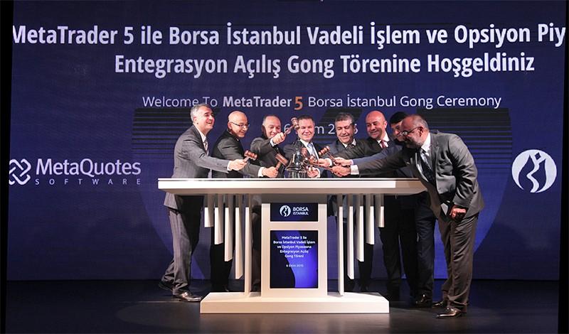 A MetaTrader 5 é lançada na Borsa Istanbul