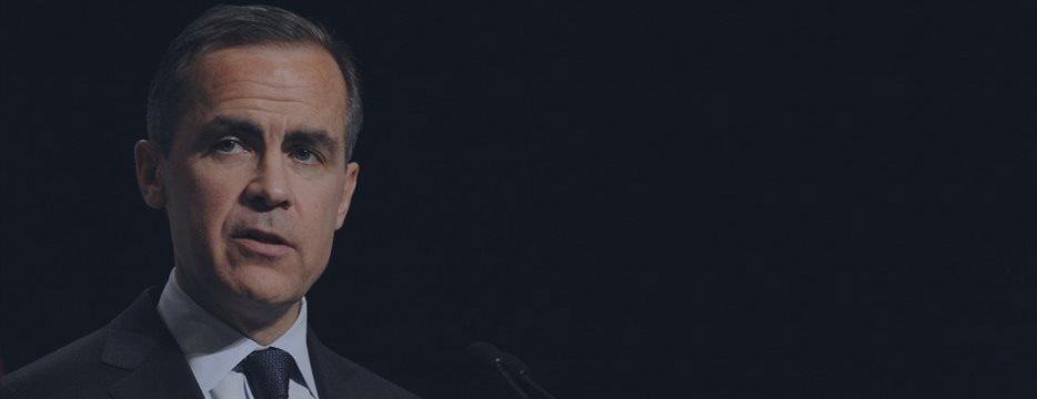 Марк Карни: «Подъем ставки Банка Англии не будет зависеть от поведения ФРС»