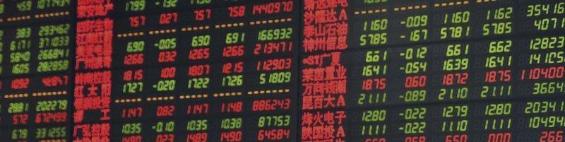 アジアの株式市場はとぎれとぎれ貿易に進出する