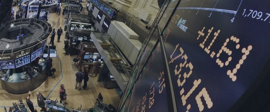 Wall Street opens higher, boosted by Europe, U.S. data