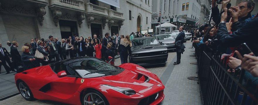 Fue victoriosa primera carrera de Ferrari en la Bolsa de Nueva York