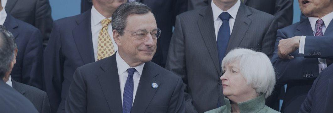 Мнение: ЕЦБ не даст повысить ставки ни ФРС, ни Банку Англии