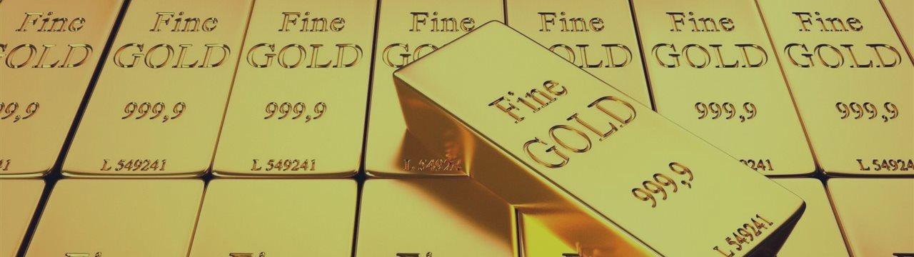 Золото на четырехнедельном минимуме