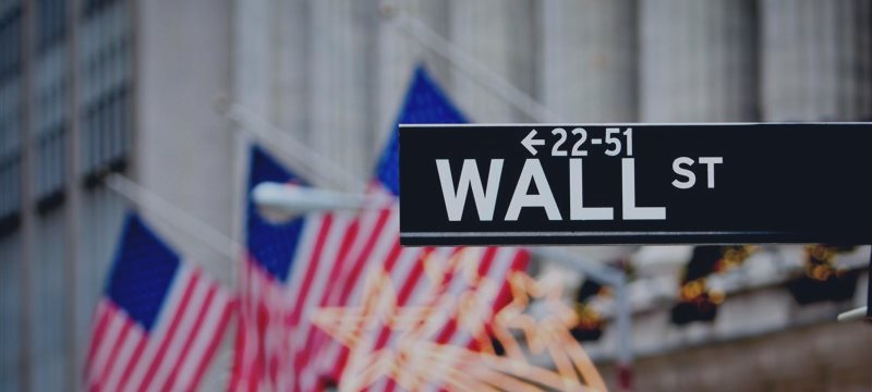 Wall Street dressed in red after big rally