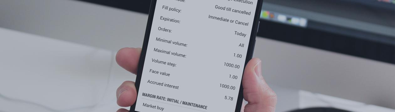 MetaTrader 5 Android build 1172: удобное масштабирование графиков и накопленный процент в свойствах облигаций