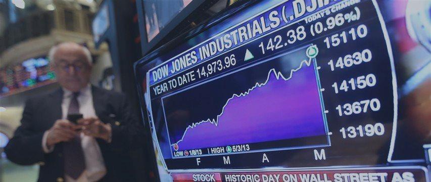 Wall Street climbs at open amid earnings, economic data