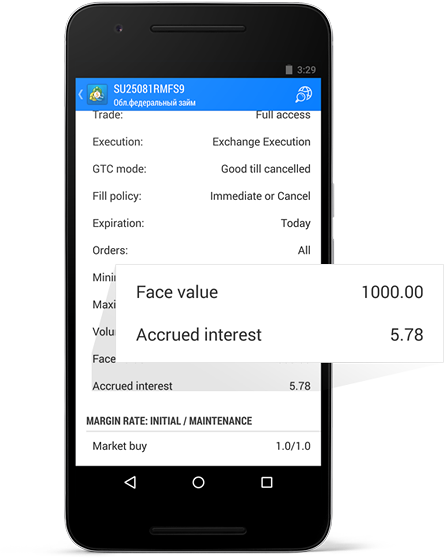 MetaTrader 5 Android build 1172