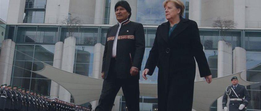 """Alemania considera """"impresionante"""" el crecimiento económico de Bolivia"""