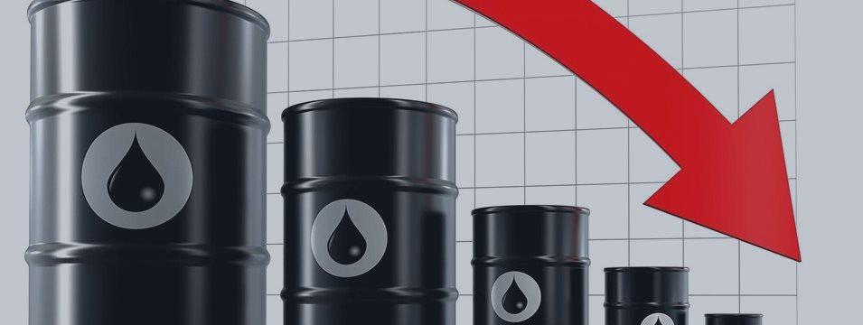 Нефть дешевеет на фоне роста запасов и замедления азиатских экономик