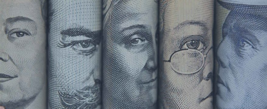 Aussie surges on highly robust jobs data; Yen slightly lower