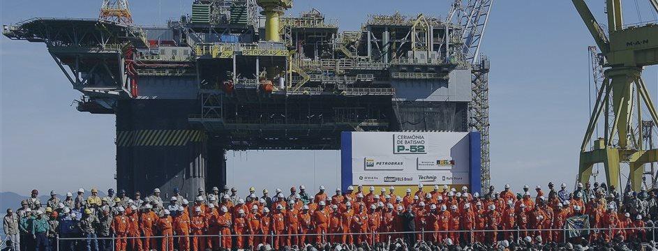 Petrobras vê produção se normalizar após queda na adesão à greve