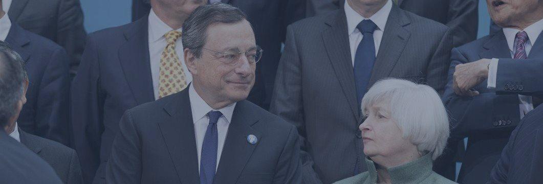 Дорожки ФРС и ЕЦБ на этой неделе разойдутся окончательно