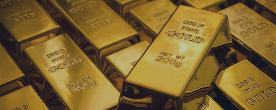 Золото подросло во вторник на снижении доллара