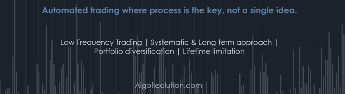 Algorithmic trading on forex