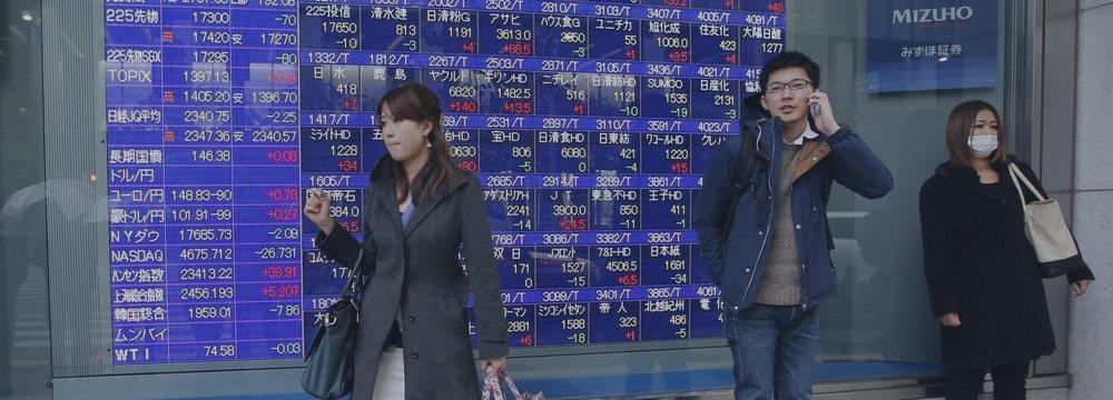 Японские акции взлетают на фоне укрепления доллара против иены