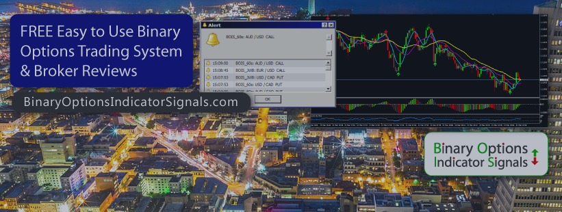 Easy to Use MT4 Binary Options/ Forex Scalping Indicator Signals System