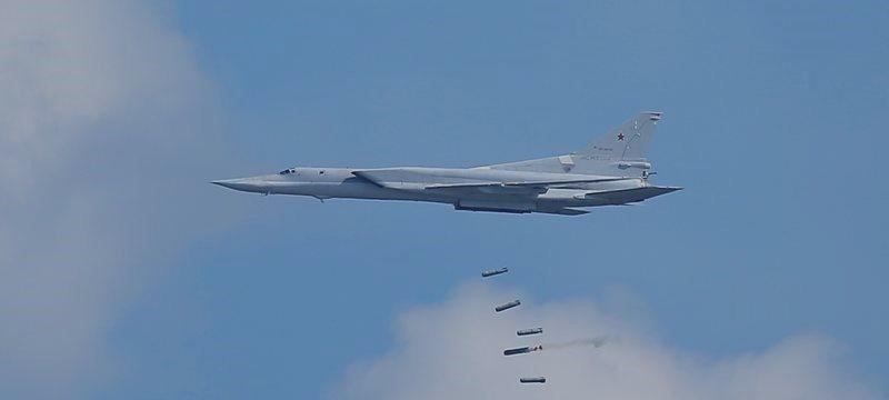 Россия перебазировала бомбардировщики в Иран, ударила ими по Сирии