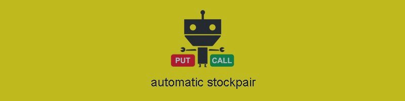 Automatic Stockpair for MT4