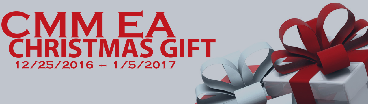 CMM EA christmas gift + trading results compare