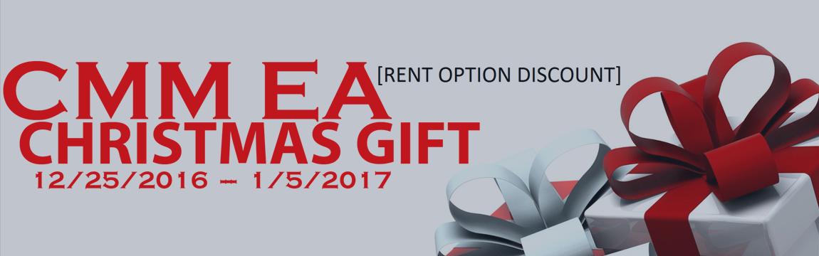 CMM EA christmas gift [ RENT OPTIONS DISCOUNT ]