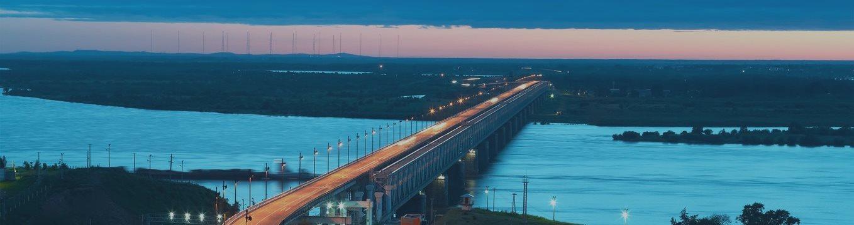 В Амурской области началось строительство моста между Россией и Китаем