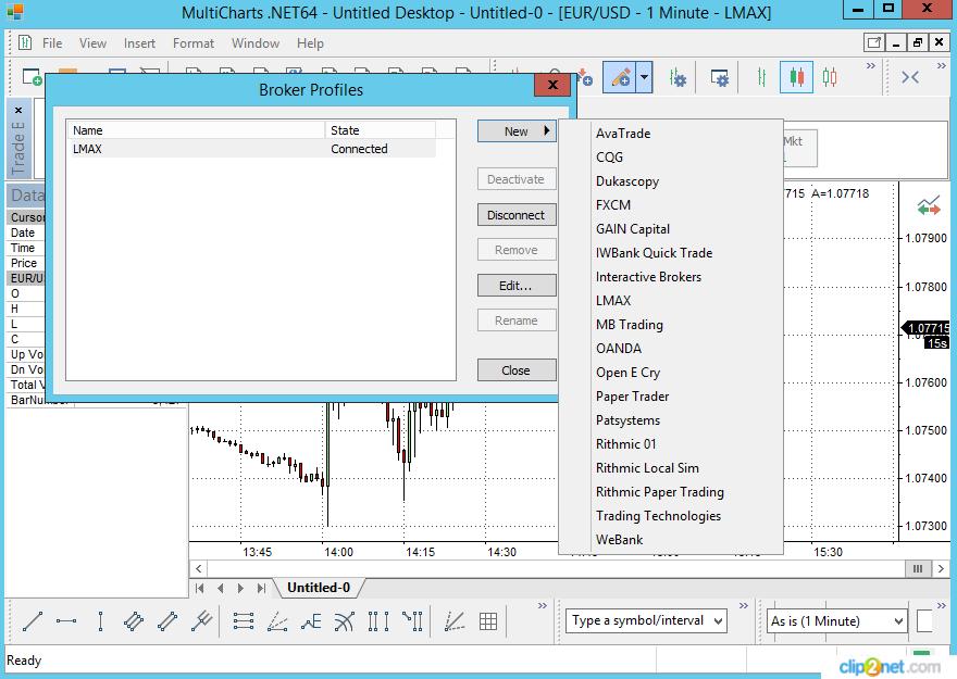 Multicharts NET and NinjaTrader support: Arbitrage
