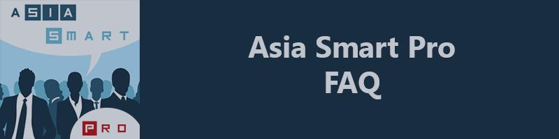 ASIA SMART PRO - Additional description of input paramaters