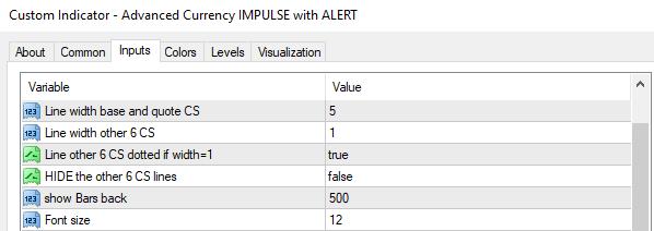 impulse inputs
