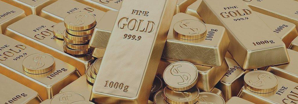 Золото торгуется в плюсе на слабых американских данных, лучше покупать на откатах