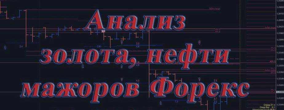 № 99. Анализ золота, нефти, мажоров Форекс 11-15.09.2017