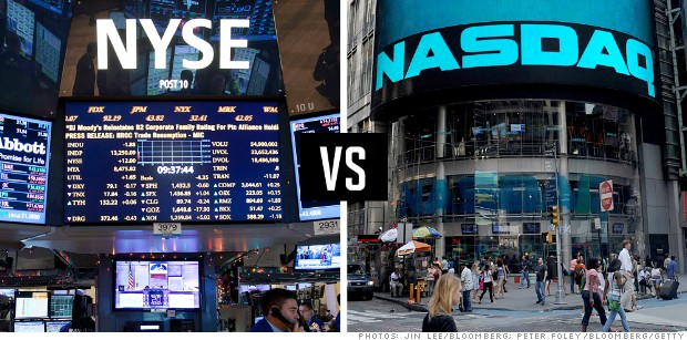 what is the difference between nasdaq and nyse