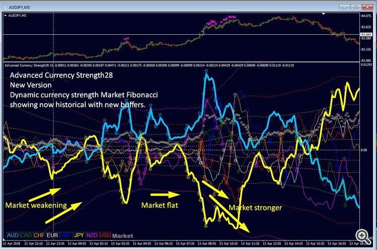 dynamic Market Fibonacci levels
