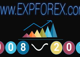 Нам 10 лет! Краткий информационный обзор нашей работы www.expforex.com