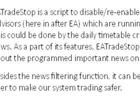EATradeStop (News and VIX filter)