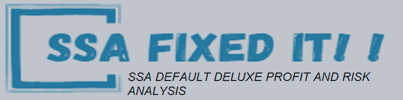 SSA DEFAULT DELUXE PROFIT AND RISK ANALYSIS