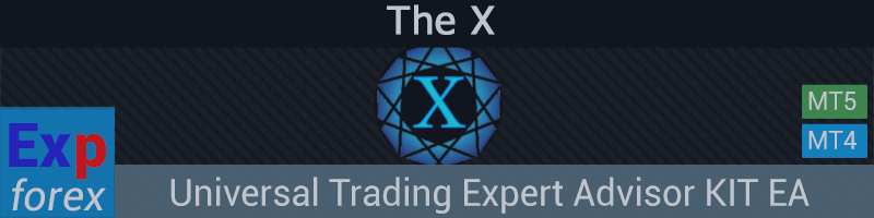 The X - Универсальный торговый советник, конструктор стратегий
