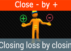 Close Minus by Plus - Closing loss-making positions, by finding and closing of profitable positions