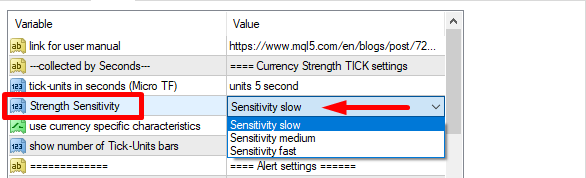 TickUnit Scalper Currency Strength28 PRO