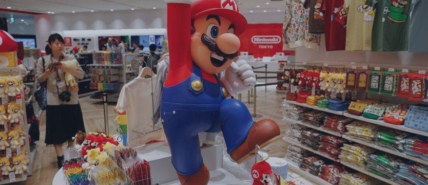 Mario Shopping Kart: Nintendo открывает магазин в Токио