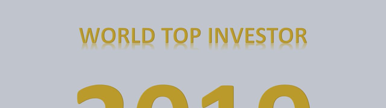 WOLRD TOP INVESTOR 2019 MQL5