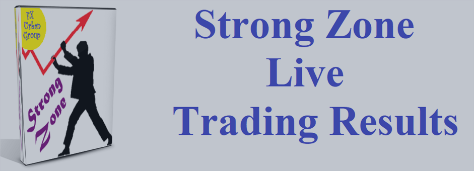 In this blog I will post the results of Strong Zone trading on a live account