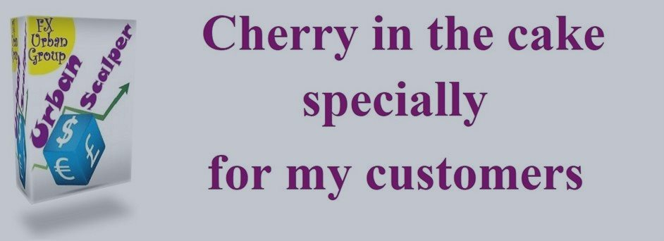 Cherry in the cake specially for my customers. Urban Scalper