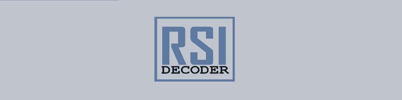 RSI(Relative strength Index) DECODER MT4/MT5