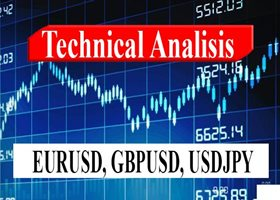TECHNICAL ANALYSIS at 14/08/2020  for EURUSD,  GBPUSD, USDJPY