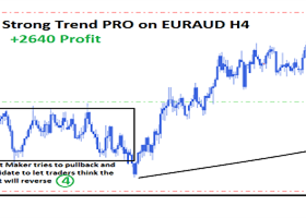STRONG TREND PRO - LIVE TRADE EURAUD