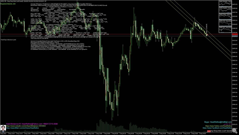 Hang Seng Index (cash based)