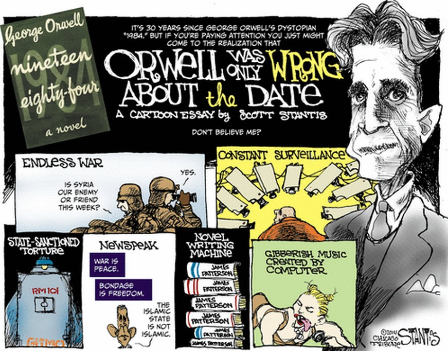 analysis of george orwells 1984 1984 essays are academic essays for citation these papers were written primarily by students and provide critical analysis of 1984 by george orwell.